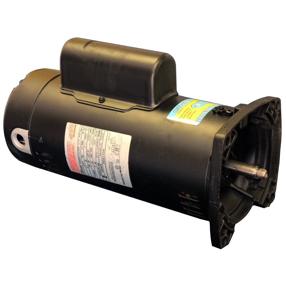 Square flange pool pump motor for Motor for pool pump