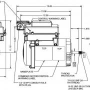 Avsj3 Variable Speed Pool Pump Motor 56j Perry S Pool Pump