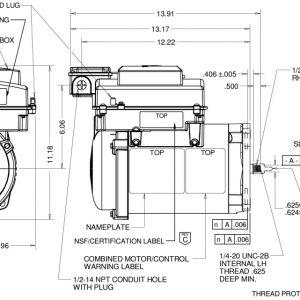 Intelliflo Variable Speed EVSS3-NS Wiring