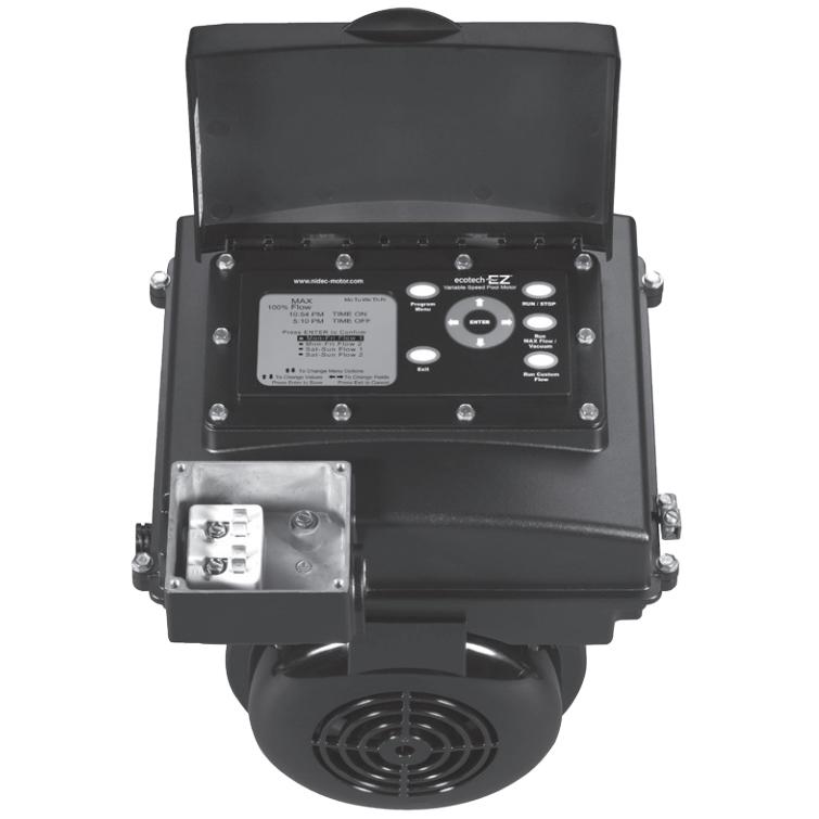 Avsj3 variable speed pool pump motor 56j perry 39 s pool pump for Emerson ultratech variable speed motor