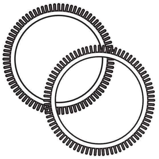 896584000-082 Rear Back Tires PoolCleaner Poolvergnuegen