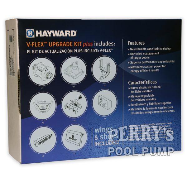 VVX3000SCKITWH V-Flex Upgrade Kit Plus Hayward Pool Vac Navigator back
