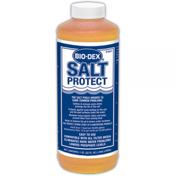 Bio Dex Salt Protect 1 Qt Salt32 Perry S Pool Pump