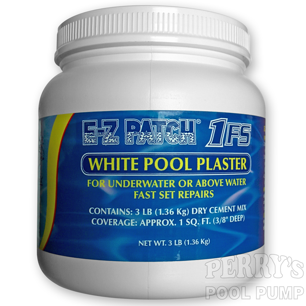E-Z Patch 1 1FS White Pool Plaster Repair Cement EZ