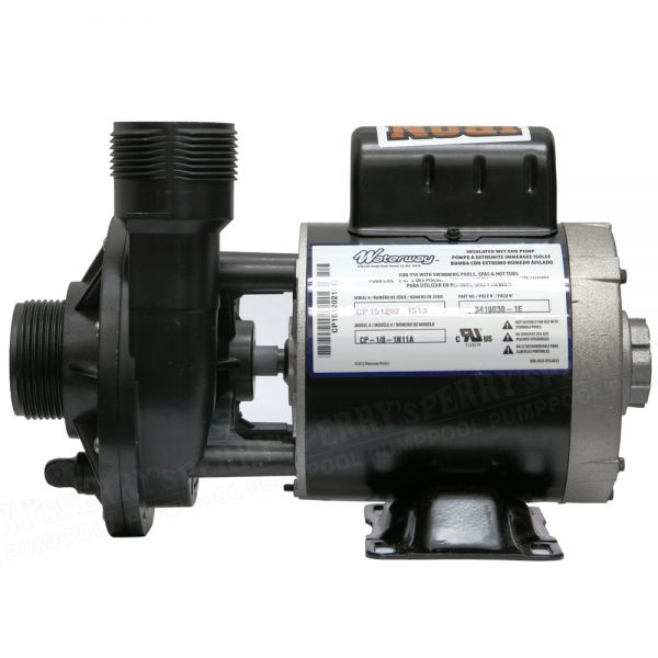Waterway Iron Might 115V Pond Spa Pump 3410030-1E