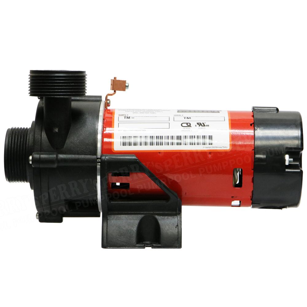 """Waterway TINY MIGHT 24h spa circulating spa pump 115V part# 3312610 1/""""mpt thread"""
